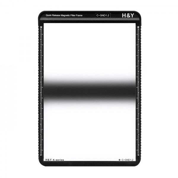 H&Y HD Center GND Filter ND1,2 mit Magnetrahmen