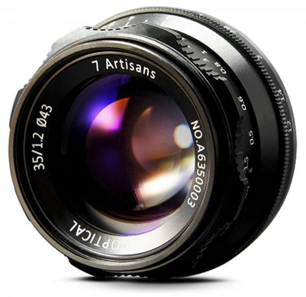 7Artisans 35mm f/1,2 für Sony E (APS-C)