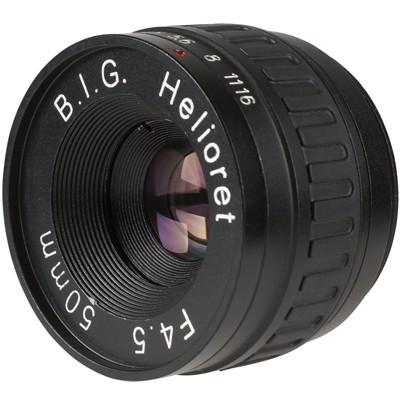 B.I.G. Helioret 4,5/50mm Makro Objektivkopf M39