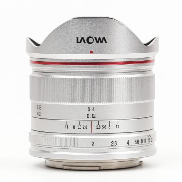 LAOWA 7,5mm f/2,0 drone für MFT, silber