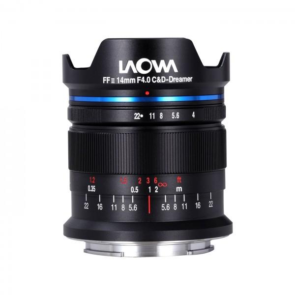 LAOWA 14mm f/4 FF RL Zero-D für Sony E Vollformat