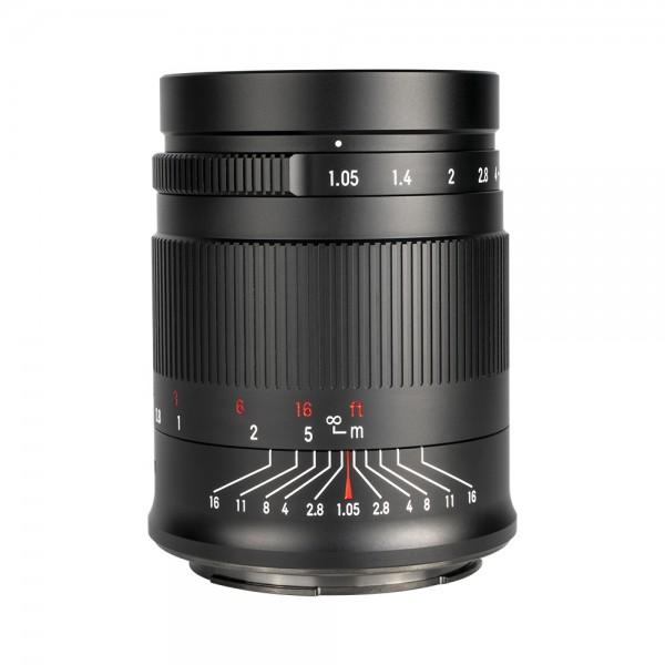 7Artisans 50mm f/1,05 für Sony E (Vollformat)