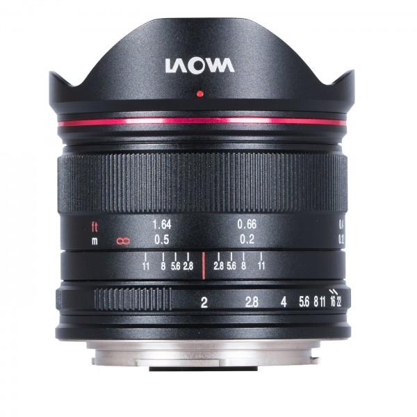 LAOWA 7,5mm f/2,0 drone für MFT, schwarz