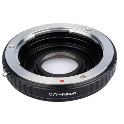 B.I.G. Objektivadapter m. Linse Cont/Yash an Nikon