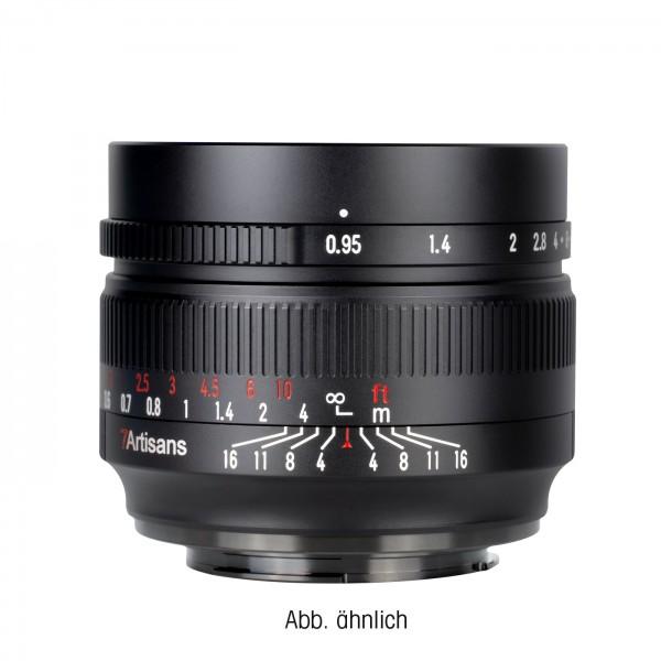 7Artisans 50mm f/0,95 für Fuji X
