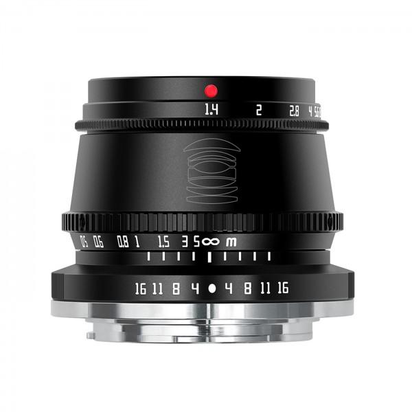 TTArtisan 35mm f/1,4 für MFT