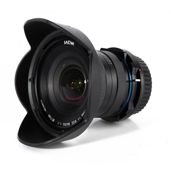 LAOWA 15mm f/4 Macro 1:1 Shift für Sony A