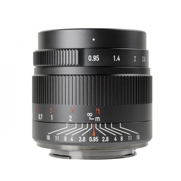 7Artisans 35mm f/0,95 für MFT