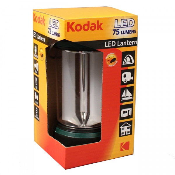 KODAK LED Outdoorlampe, 75Lm