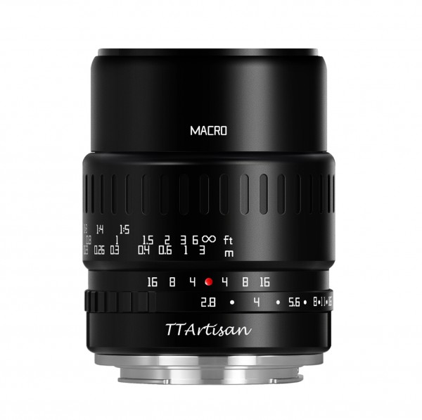 TTArtisan 40mm f/2,8 Macro für Canon EF-M