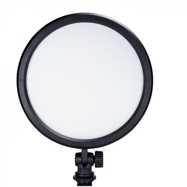 B.I.G. LED 120VCR Video-Flächenleuchte, rund 16cm
