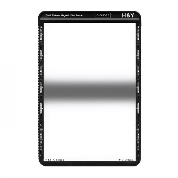 H&Y HD Center GND Filter ND0,6 mit Magnetrahmen
