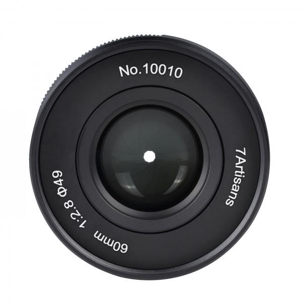 7Artisans 60mm f/2,8 II für Fuji X