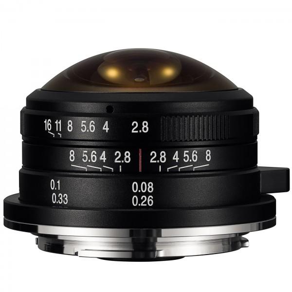 LAOWA 4mm f/2,8 Circ. Fisheye für Nikon Z (APS-C)