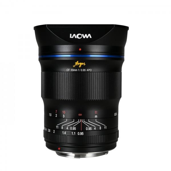 LAOWA Argus 33mm f/0,95 CF APO für Canon EF-M
