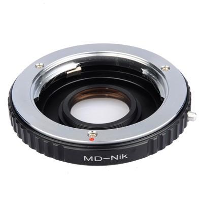 B.I.G. Objektivadapter m.Linse Minolta MD an Nikon