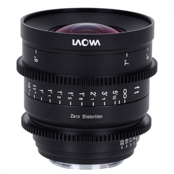 LAOWA 12mm T2.9 Zero-D Cine für L-Mount