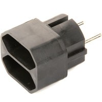 Eurostecker 2-fach Adapter