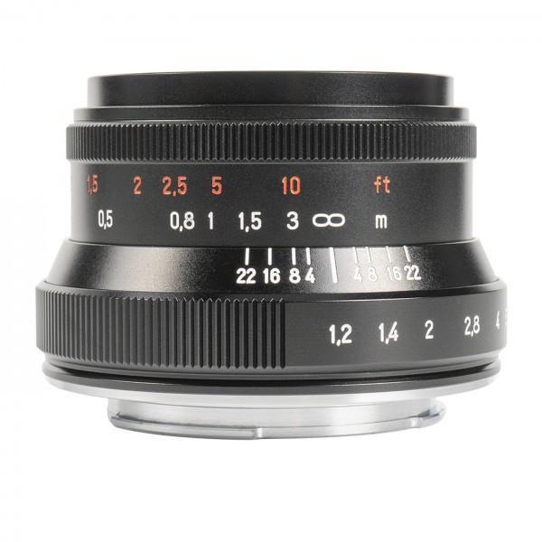 7Artisans 35mm f/1,2 II für Canon EF-M