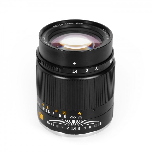 TTArtisan 50mm f/1,4 für Sony E (Vollformat)
