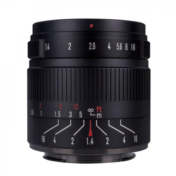7Artisans 55mm f/1,4 II für Sony E (APS-C)