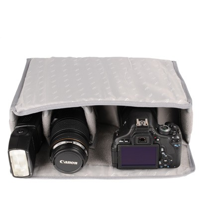 kalahari BI-L Tascheneinsatz für Kameras, Gr. L