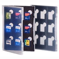 Gepe Card Safe Store SD f. 9x SD Card, transparent