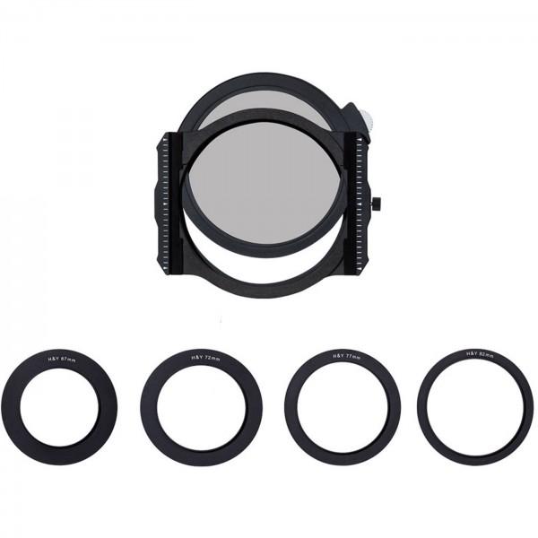 H&Y Magnetischer Filterhalter UNI +CPL Filter 95mm