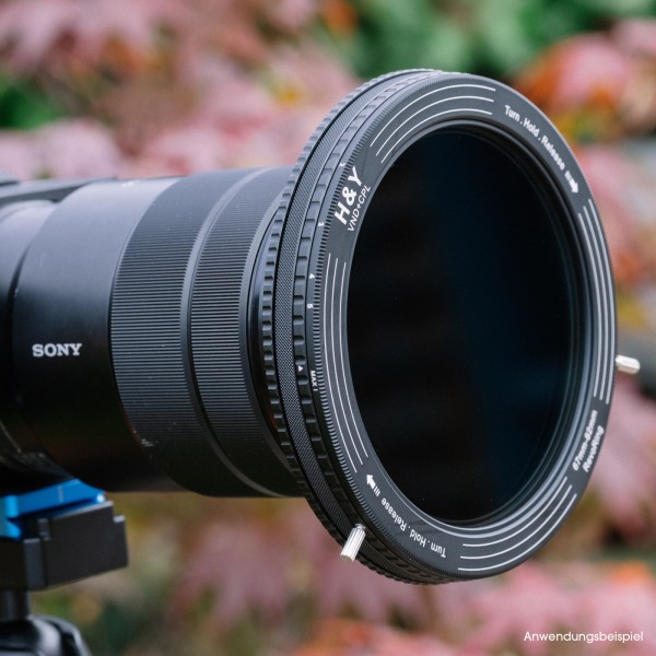 H&Y REVORING 58-77mm mit ND3-ND1000 und CPL Filter