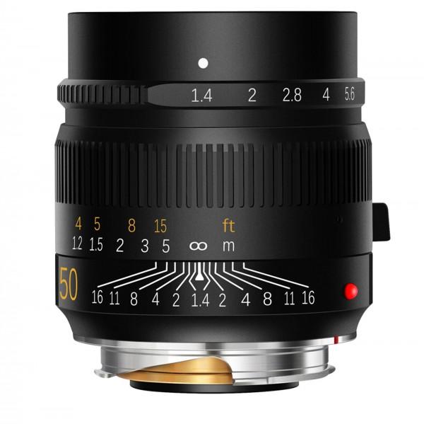 TTArtisan M 50mm f/1,4 ASPH. für Leica M