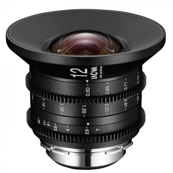 LAOWA 12mm T2.9 Zero-D Cine für Arri PL, imperial
