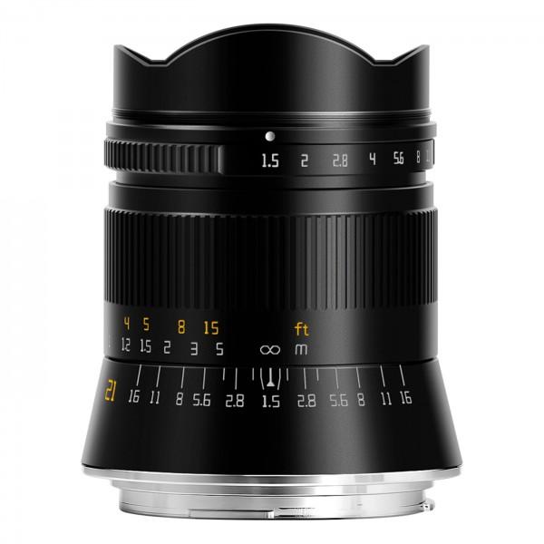 TTArtisan 21mm f/1,5 für Canon RF