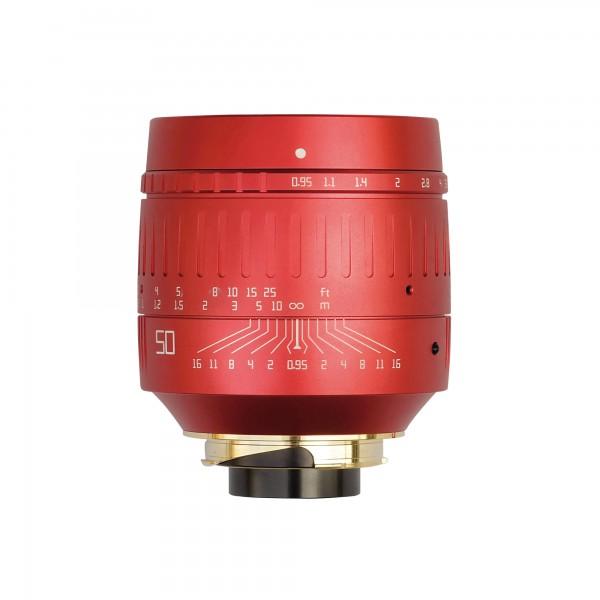 TTArtisan M 50mm f/0,95 RED EDITION für Leica M