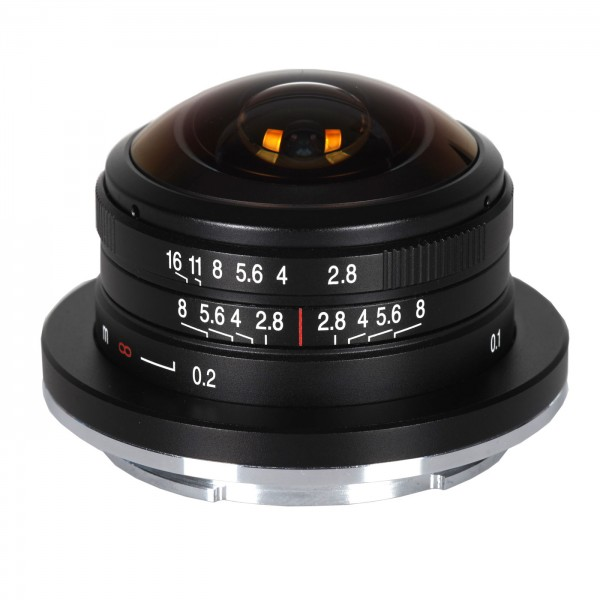 LAOWA 4mm f/2,8 Circ. Fisheye für Sony E (APS-C)