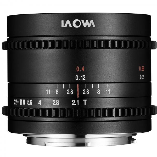 LAOWA 7,5mm t/2,1 Cine für MFT
