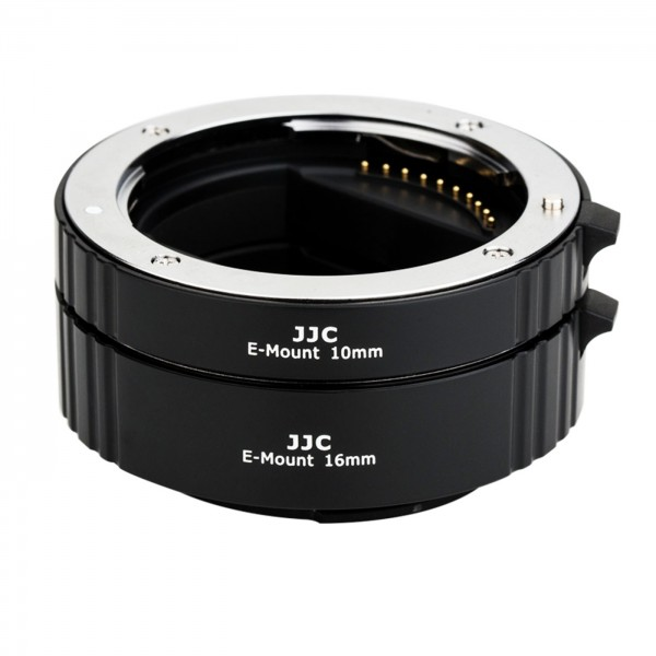 JJC Auto-Zwischenringset Sony E, 10+16mm Vollform.