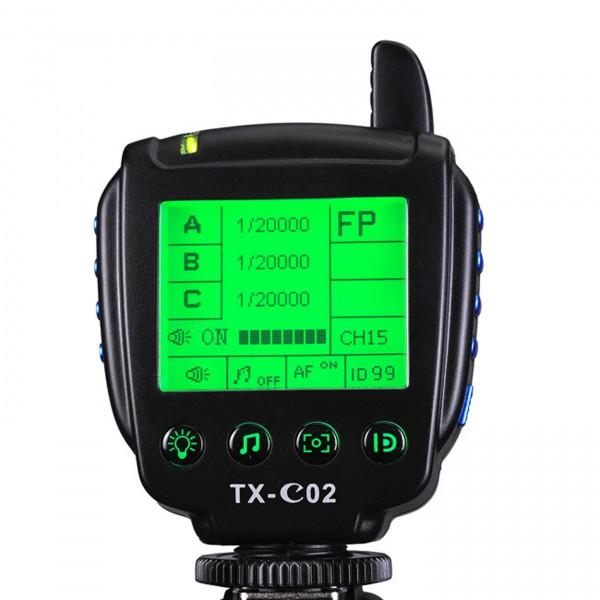 HELIOS TTL-600C Transmitter für Canon