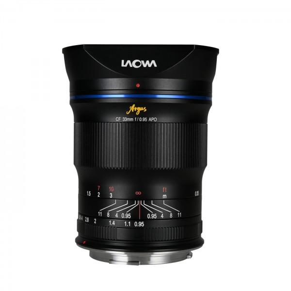 LAOWA Argus 33mm f/0,95 CF APO f. Canon RF (APS-C)