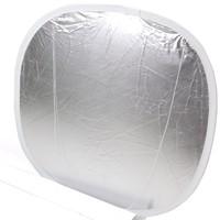 Lastolite Reflektor silber/weiß für Cubelite 120