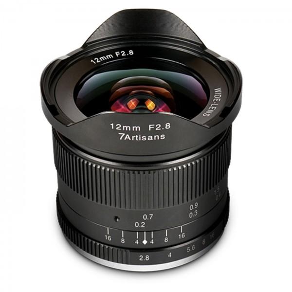 7Artisans 12mm f/2,8 für Fuji X