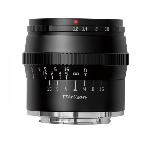 TTArtisan 50mm f/1,2 für Nikon Z (APS-C)