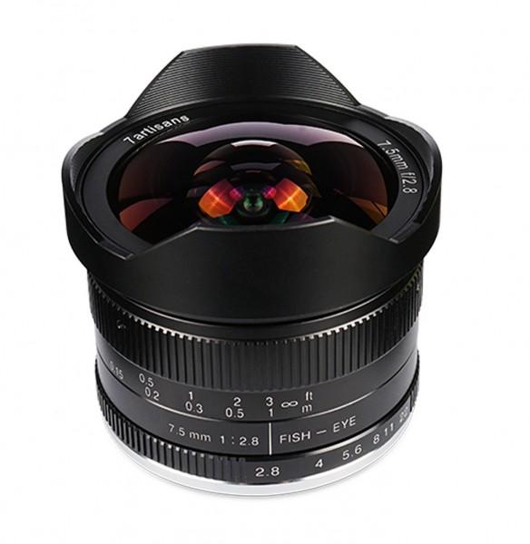 7Artisans 7,5mm f/2,8 für Sony E (APS-C)