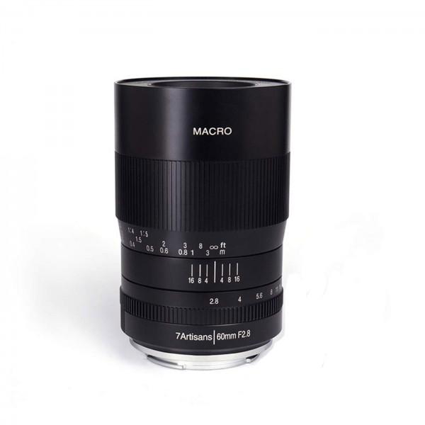7Artisans 60mm f/2,8 Macro für MFT