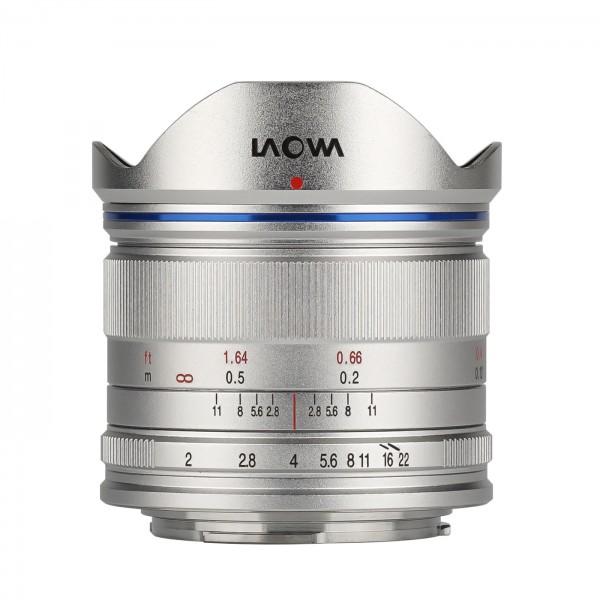 LAOWA 7,5mm f/2,0 für MFT, silber