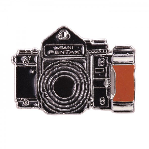 B.I.G. Anstecknadel Pin - Kamera schwarz