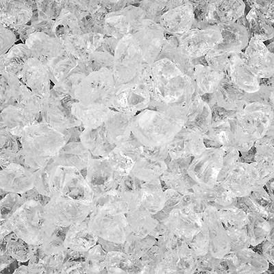 B.I.G. Deko-Crash-Eis Klarglas grob,4-10mm, 740 ml