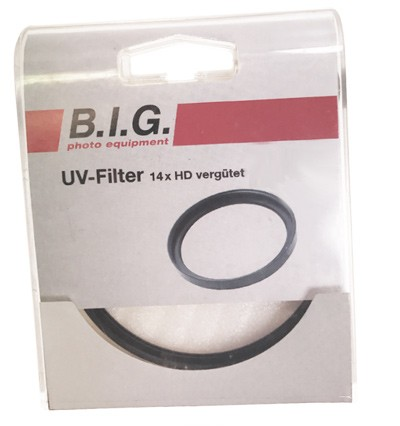 B.I.G. UV-Filter dünn 14x HD-vergütet, 40,5mm