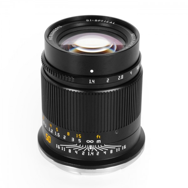 TTArtisan 50mm f/1,4 für Nikon Z