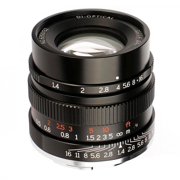 7Artisans 35mm f/1,4 für Sony E (Vollformat)