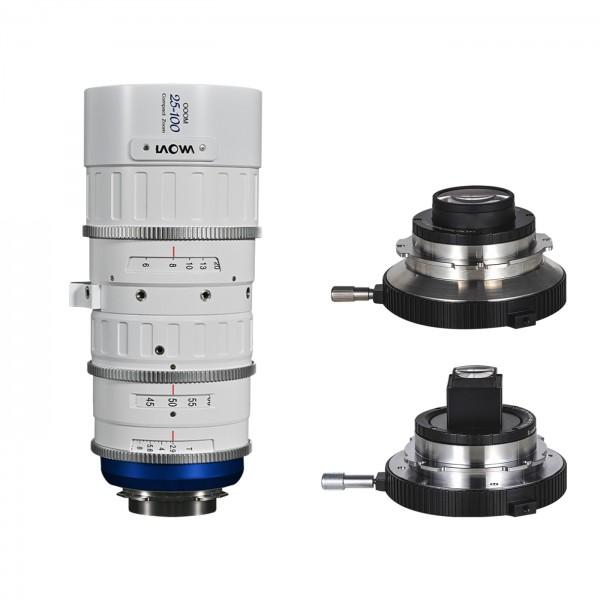 LAOWA OOOM 25-100mm T2.9 Cine Lens Bundle, weiß